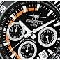 Firefox Watches  SILVER SURFER Pilot Watch Chronograph Men's clock Orange