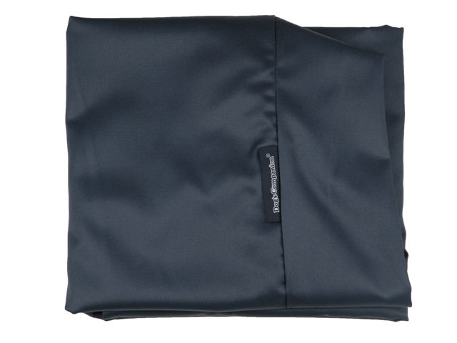 Hoes hondenbed donkerblauw vuilafstotende coating extra small