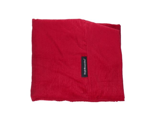 Dog`s Companion® Hoes hondenbed rood ribcord