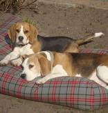 Dog's Companion® Hondenbed extra small scottish grey
