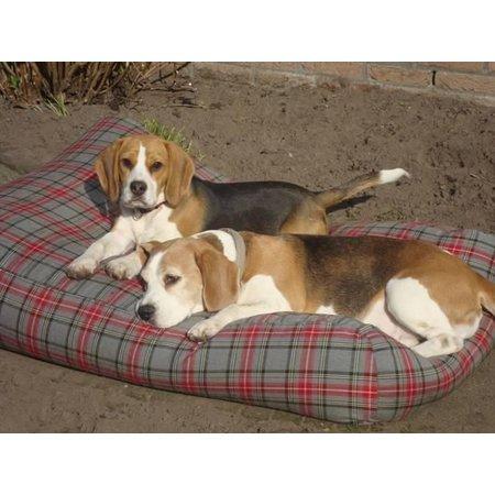 Dog's Companion® Hondenbed scottish grey superlarge