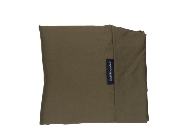 Dog`s Companion® Hoes hondenbed extra small taupe bruin