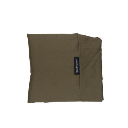 Dog's Companion® Hoes hondenbed medium taupe/bruin