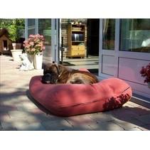 Hondenbed large steenrood