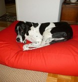 Dog's Companion® Hondenbed rood superlarge