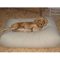Hondenbed beige medium