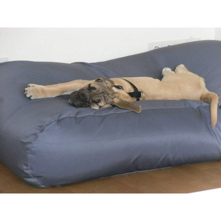 Dog's Companion® Hondenkussen extra small staalgrijs vuilafstotende coating