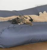 Dog's Companion® Hondenkussen small staalgrijs vuilafstotende coating