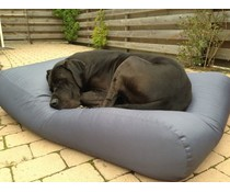 Dog's Companion® Hondenkussen large staalgrijs vuilafstotende coating