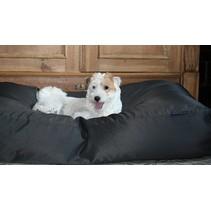 Hondenbed small zwart vuilafstotende coating