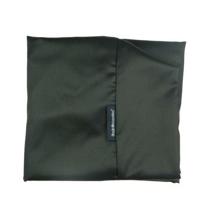 Dog's Companion® Hondenbed large zwart vuilafstotende coating