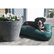 Hondenbed groen vuilafstotende coating small