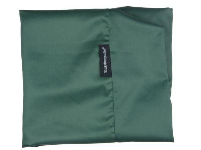 Dog's Companion® Hoes hondenbed medium groen vuilafstotende coating