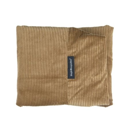 Dog's Companion® Hoes hondenbed camel ribcord extra small