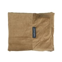 Hoes hondenbed camel ribcord small