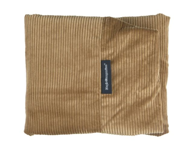Dog's Companion® Hoes hondenbed small camel ribcord