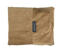 Dog's Companion® Hoes hondenbed large camel ribcord