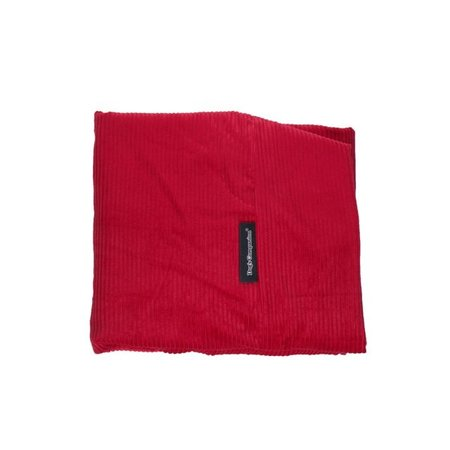 Dog's Companion® Hoes hondenbed rood ribcord extra small