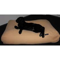 Hondenkussen extra small maïsgeel (meubelstof)