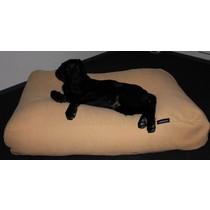 Hondenkussen maïsgeel meubelstof small