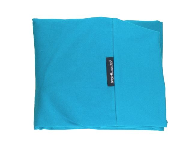 Dog's Companion® Hoes hondenbed aqua blauw small