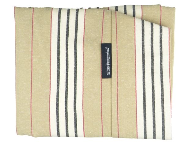 Dog's Companion® Hoes hondenbed small country field streep
