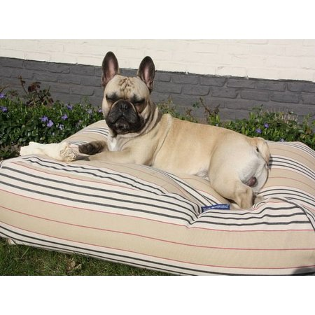 Dog's Companion® Hondenbed country field streep  large