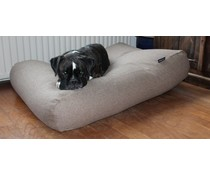 Dog's Companion® Hondenbed small tweed lichtbruin