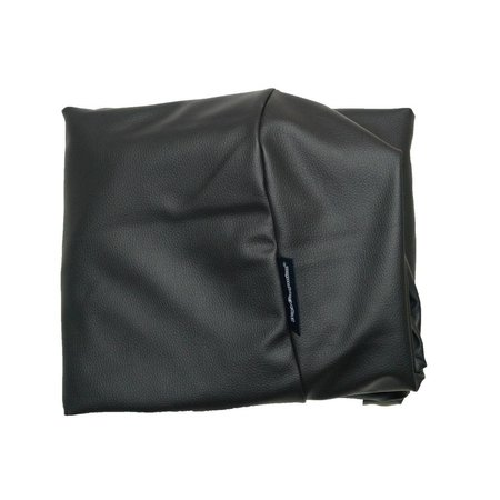 Dog's Companion® Hoes hondenbed large zwart leather look