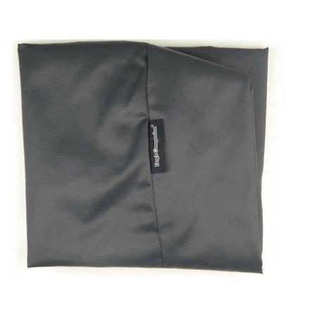 Dog's Companion® Hoes hondenbed medium charcoal vuilafstotende coating