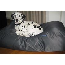 Hondenbed superlarge charcoal vuilafstotende coating