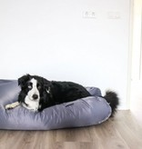 Dog's Companion® Hondenkussen staalgrijs vuilafstotende coating