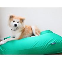 Hondenbed lentegroen vuilafstotende coating medium