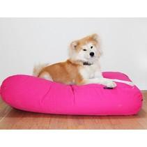 Hondenkussen medium roze