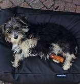 Dog's Companion® Hondenbed zwart leather look superlarge