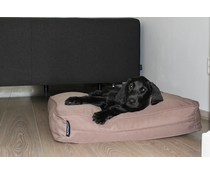 Dog's Companion® Benchkussen 68x62x10 cm Taupe