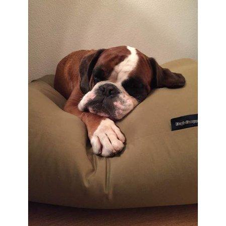 Dog's Companion® Hondenkussen khaki vuilafstotende coating