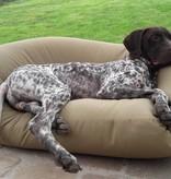 Dog's Companion® Hondenkussen small khaki vuilafstotende coating