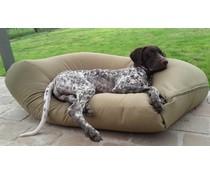 Dog's Companion® Hondenkussen superlarge khaki vuilafstotende coating