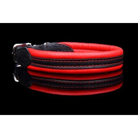 Dog's Companion® Handgemaakte leren halsband (soft/duo)