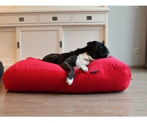 Dog's Companion® Hondenbed extra small rood ribcord