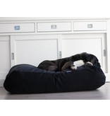Dog's Companion® Hondenbed extra small zwart ribcord
