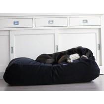 Hondenbed zwart ribcord small