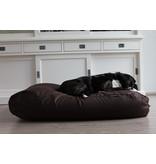 Dog's Companion® Hondenkussen chocolade bruin katoen extra small