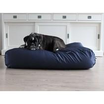 Hondenbed donkerblauw vuilafstotende coating superlarge