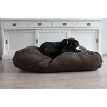 Hondenbed natuurlijk bruin ribcord extra small
