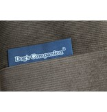 Dog's Companion® Hoes hondenbed natuurlijk bruin ribcord extra small