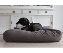 Dog's Companion® Hondenbed extra small taupe (meubelstof)