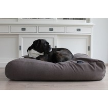 Hondenbed taupe (meubelstof) medium