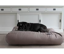 Dog's Companion® Hondenkussen extra small taupe katoen